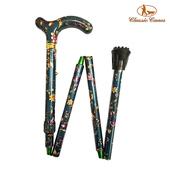 《英國 Classic Canes》可摺疊收納+調整高低手杖-4616E(細款)