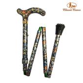 《英國 Classic Canes》可摺疊收納+調整高低手杖-4616A(細款)