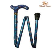 《英國 Classic Canes》可摺疊收納+調整高低手杖-4616H(細款)