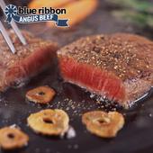 《欣明生鮮》美國PRIME藍絲帶霜降牛排(120公克±10% /1片)(*12包)