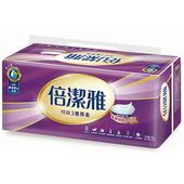 《倍潔雅》特級3層衛生紙(110抽10包)