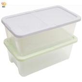 《月陽》多用途半透明鞋盒收納盒整理盒超值1入(PP81)(米色)