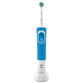《歐樂B》D100活力亮潔電動牙刷(清新藍/D100BL)