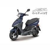 《YAMAHA山葉》JOG FS 115 液晶日行燈版- 2019年新車(深藍灰)