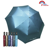《Kasan》降溫抗風自動開收傘(深藍)