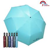 《Kasan》降溫抗風自動開收傘(水藍)