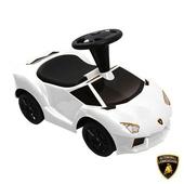 《Lamborghini藍寶堅尼》全台獨家 兒童滑行車(原車縮小比例)(白)