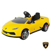 《Lamborghini藍寶堅尼》全台獨家 Huracan超跑(電動車V12) 兒童車(原車縮小比例)(兒童電動車)