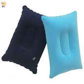 《月陽》加厚高級植絨充氣方形枕腰墊腰靠腰枕超值2入(TY3212)