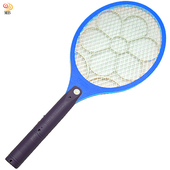 《月陽》月陽充電式大網面細目網孔3層捕蚊拍超值2入(55893X2)