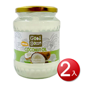《GoodSome》第一道冷壓椰子油(675ml/罐*2)