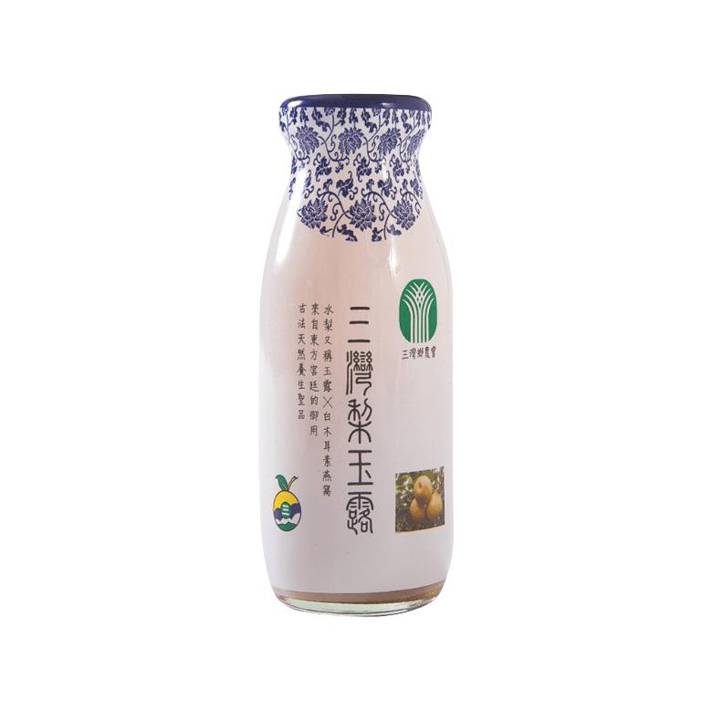 《苗栗三灣鄉農會》三灣梨玉露(200ml/瓶)