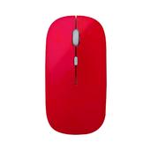 《宏晉 Hong Jin》HJ115 可充電超靜音無線滑鼠(紅色)