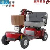 《海夫健康生活館》必翔 電動代步車 雙人共乘款(TE-9D)