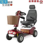 《海夫健康生活館》必翔 電動代步車 P型把手款(TE-888SLB)