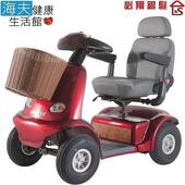 《海夫健康生活館》必翔 電動代步車 日系設計款(TE-J9)