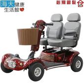 《海夫健康生活館》必翔 電動代步車 雙人座椅(TE-889DXD)