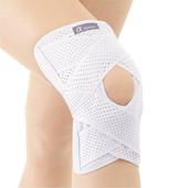 《海夫健康生活館》KP 日本 Alphax「醫生系列」雙 V 固定透氣護膝(3L)(3L)