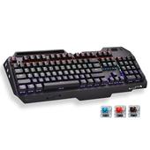 《宏晉 HongJin》鋁合金全機械式電競鍵盤 HJ221-M(紅軸)