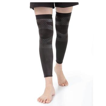 《海夫健康生活館》KP 日本 Alphax 鈦微粒運動腿套(M)