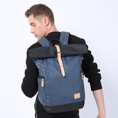 《TANGCOOL 唐酷》牛津大容量雙肩後背包 44x16x29cm藍色 $990