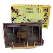 木製蘭香儲水式茶盤(43X28X5.5cm)