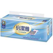 《倍潔雅》特級絲絨柔滑抽取式衛生紙110抽12包