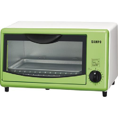 《SAMPO 聲寶》8L 電烤箱 KZ-SL08(綠色)