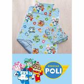 【17mall】波力三件式兒童睡墊 涼被 童枕 睡袋(藍色)
