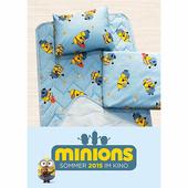 【17mall】小小兵三件式兒童睡墊 涼被 童枕 睡袋
