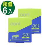 《aoni》愛引力001 保 險 套(6入裝)