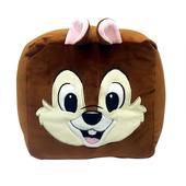 《迪士尼正版授權》方形頭枕-20X20X20cm(奇奇)
