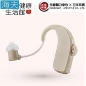 《海夫健康生活館》元勛助聽器(未滅菌) 日本耳寶 電池式耳掛型助聽器 6BA2