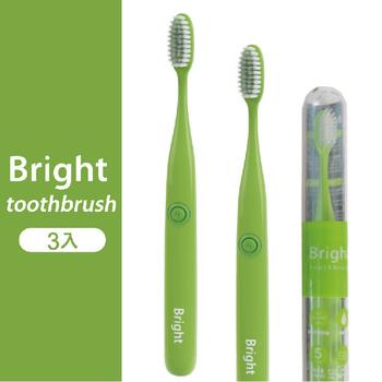 《韓國Bright白立得》音波振動牙刷(3入)(綠色)
