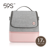 59S 紫外線消毒媽咪包-粉色 SZD17-P14-PI