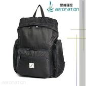 《aaronation》aaronation - FrGuoo系列 可收納式後背包 - CE-FRB578(黑色)