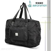 《aaronation》aaronation - FrGuoo系列 可收納式旅行袋 - CE-FRB579(黑色)