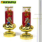 《AYAPU 悅亞普》AYAPU 悅亞普 - 電池式環保安全電子蠟燭 -VX-CL938BT-紅(紅)