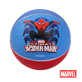 《MARVEL》MARVEL漫威正版授權蜘蛛人造型5號籃球 DA1005-S(藍、紅)