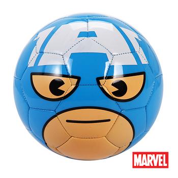 《MARVEL》MARVEL漫威正版授權美國隊長造型2號足球 D664-CA(藍、白)