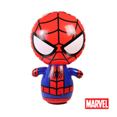 《Marvel》漫威Marvel。90CM蜘蛛人充氣不倒翁 Z70090-S1(90 x 60 cm)