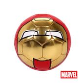 《MARVEL》MARVEL漫威正版授權鋼鐵人造型2號足球 D664-I(紅、金)