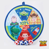 《Disney》Toys Story玩具總動員鏢靶黏黏球組 HJY009(布、PP)
