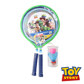 《Disney》玩具總動員羽球對拍組(附拍套) DDA18652-G(黃/藍色)