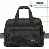 《aaronation 愛倫國度》aaronation 愛倫國度 -BAIHO系列可加大旅行袋-URA-LD8852-黑(黑色)