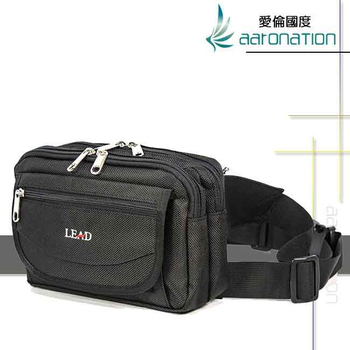 《aaronation 愛倫國度》aaronation 愛倫國度 -BAIHO系列腰包URA-LD8854-黑(黑色)