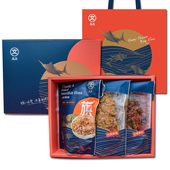 《旗聚一堂》風華禮盒古早味旗魚鬆220g+原味肉鬆240g+豬肉絲220g