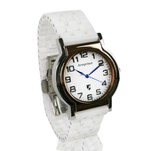 《Arseprince亞瑟王子》Y世極簡時尚中性錶-白色