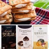 《喜福田》歡樂沖泡禮盒組 (韓國HEE CHANG 沖泡飲品+喜福田牛軋餅 )(4入/組 X2組)