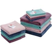 《actuel》埃及棉短毛巾(深藍)